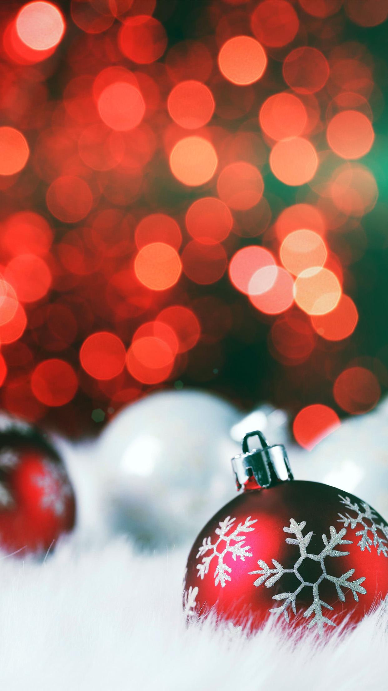 Av73 Christmas Bokeh Holiday Red Illustration Art Flare