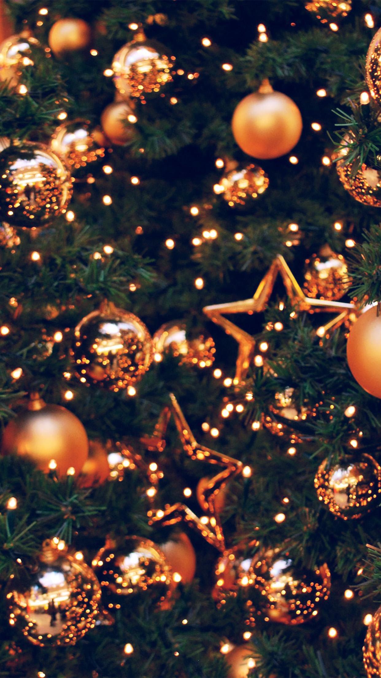 Av77 Decoration Holiday Christmas Illustration Art Gold