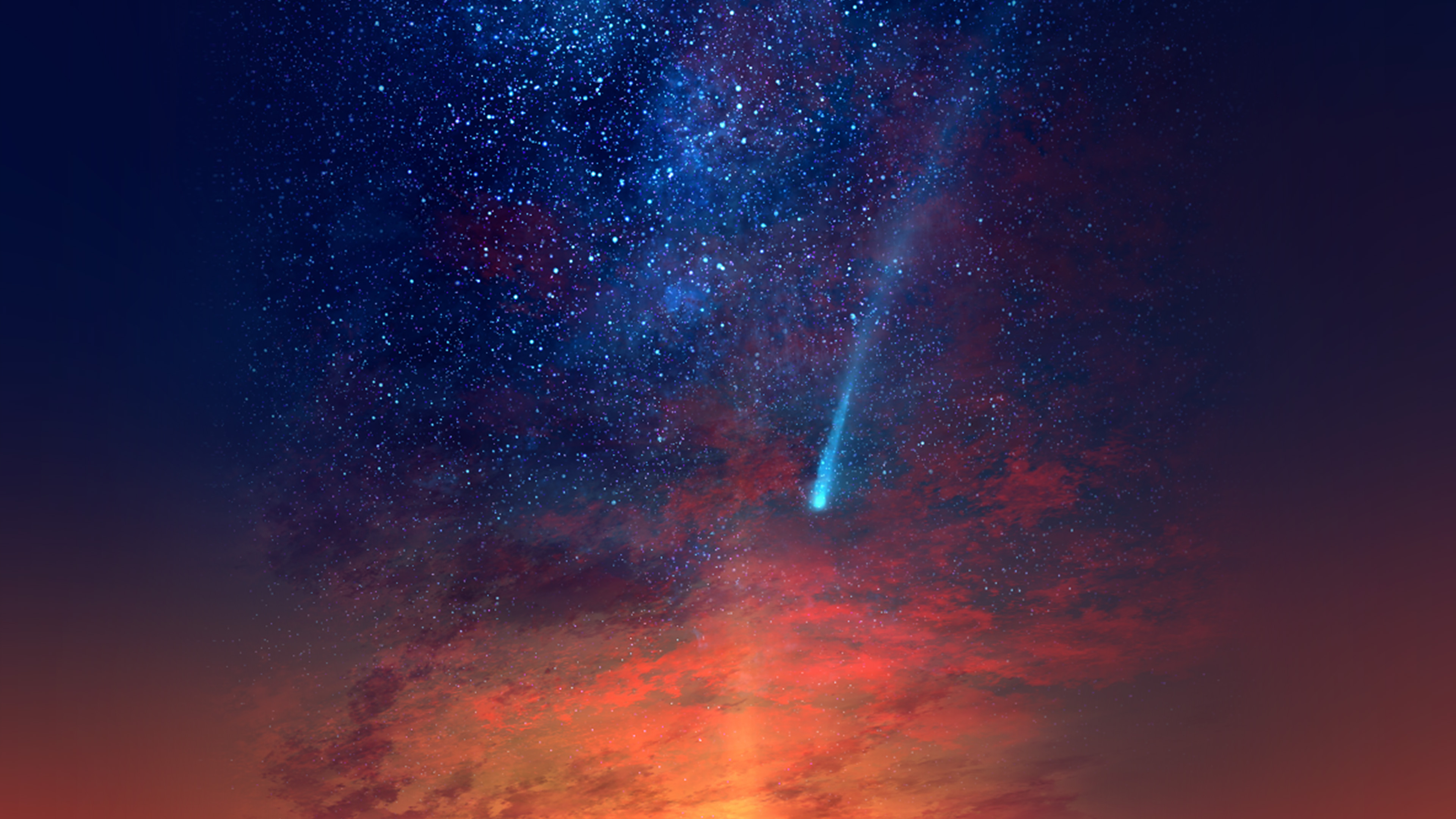 wallpaper for desktop, laptop | av79-anime-sunset-red ...