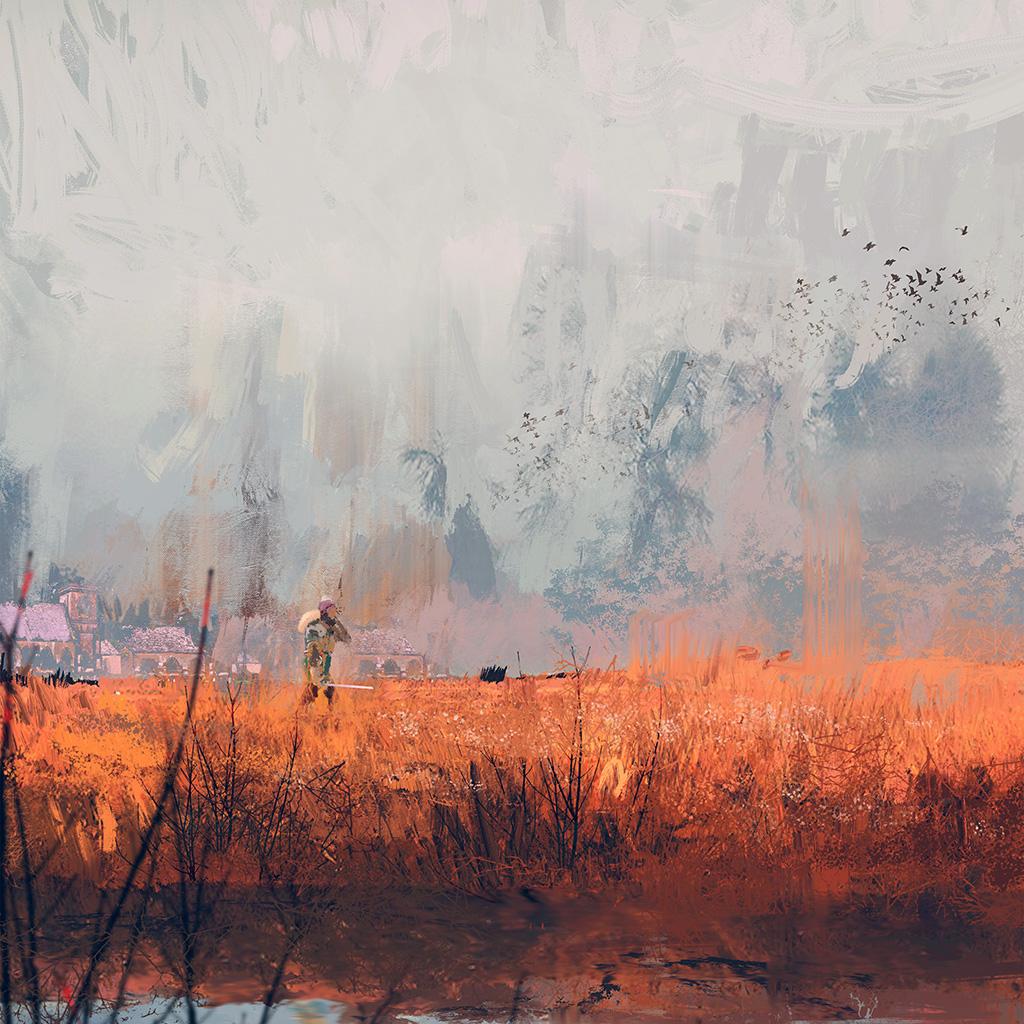 android-wallpaper-av87-morning-wadim-kashin-paing-illustration-art-blue-wallpaper