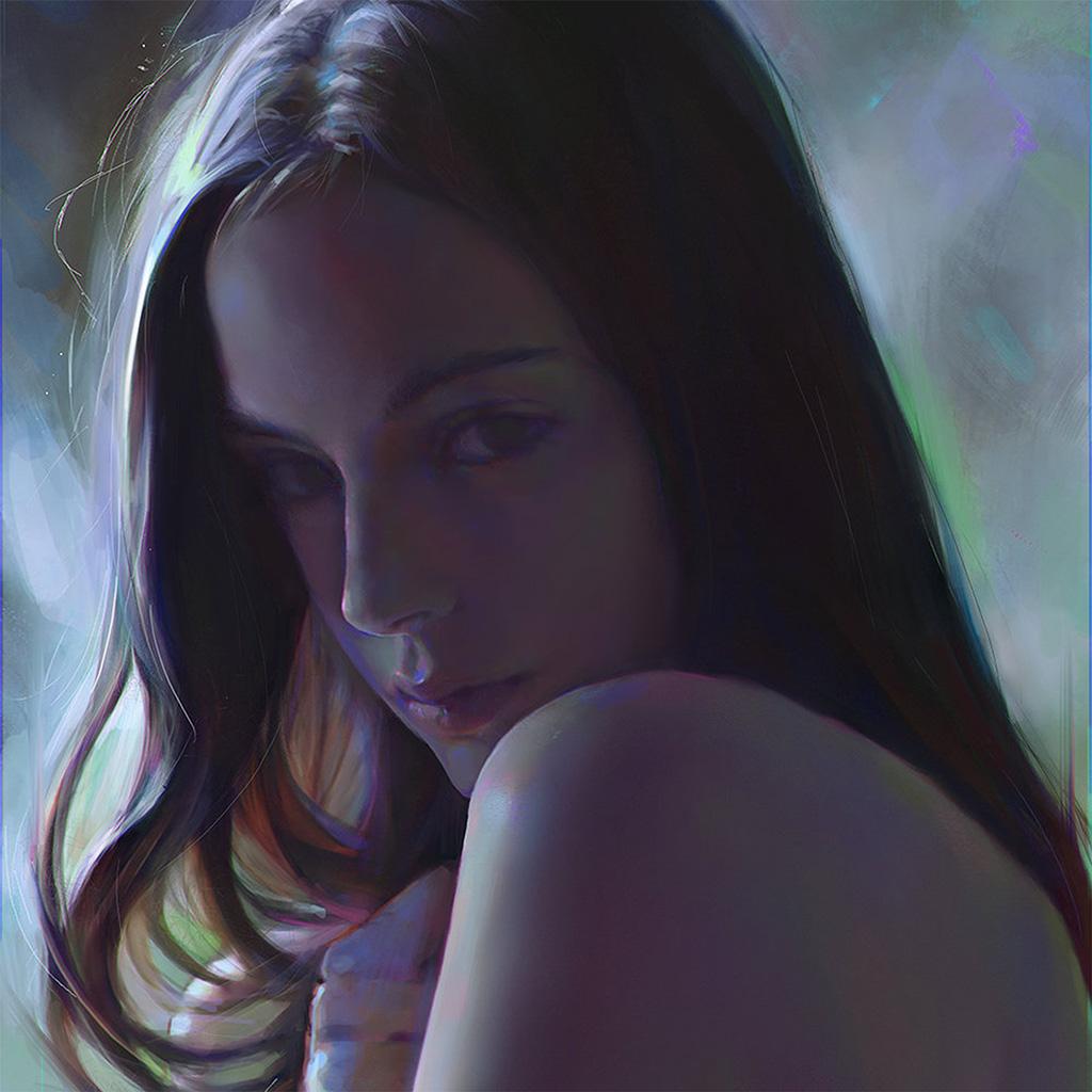 android-wallpaper-av90-yanjun-cheng-girl-paint-dark-illustration-art-wallpaper