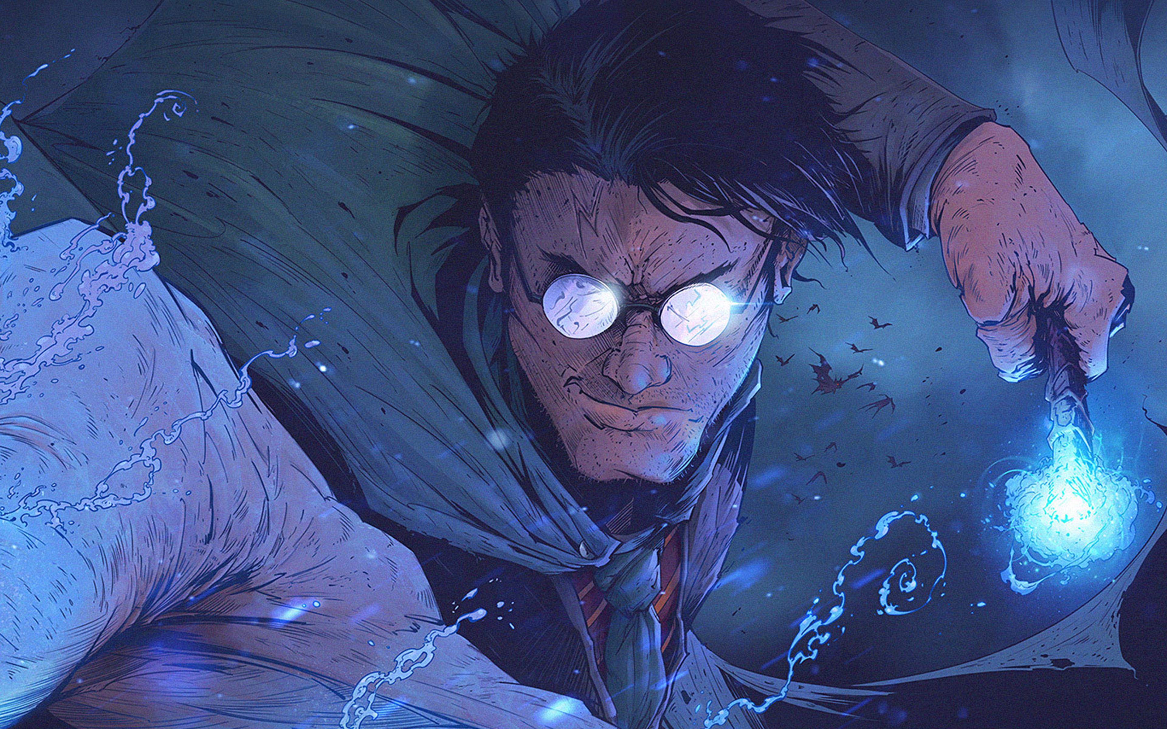 Av96 Harry Potter Toronto Revolver Paint Illustration Art
