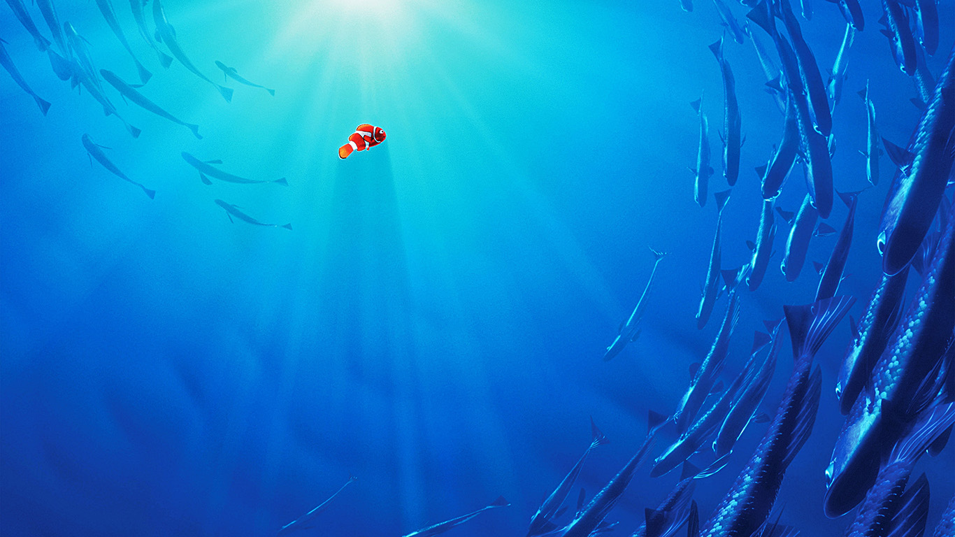 Papers Co Desktop Wallpaper Aw13 Nemo Disney Film Anime Sea