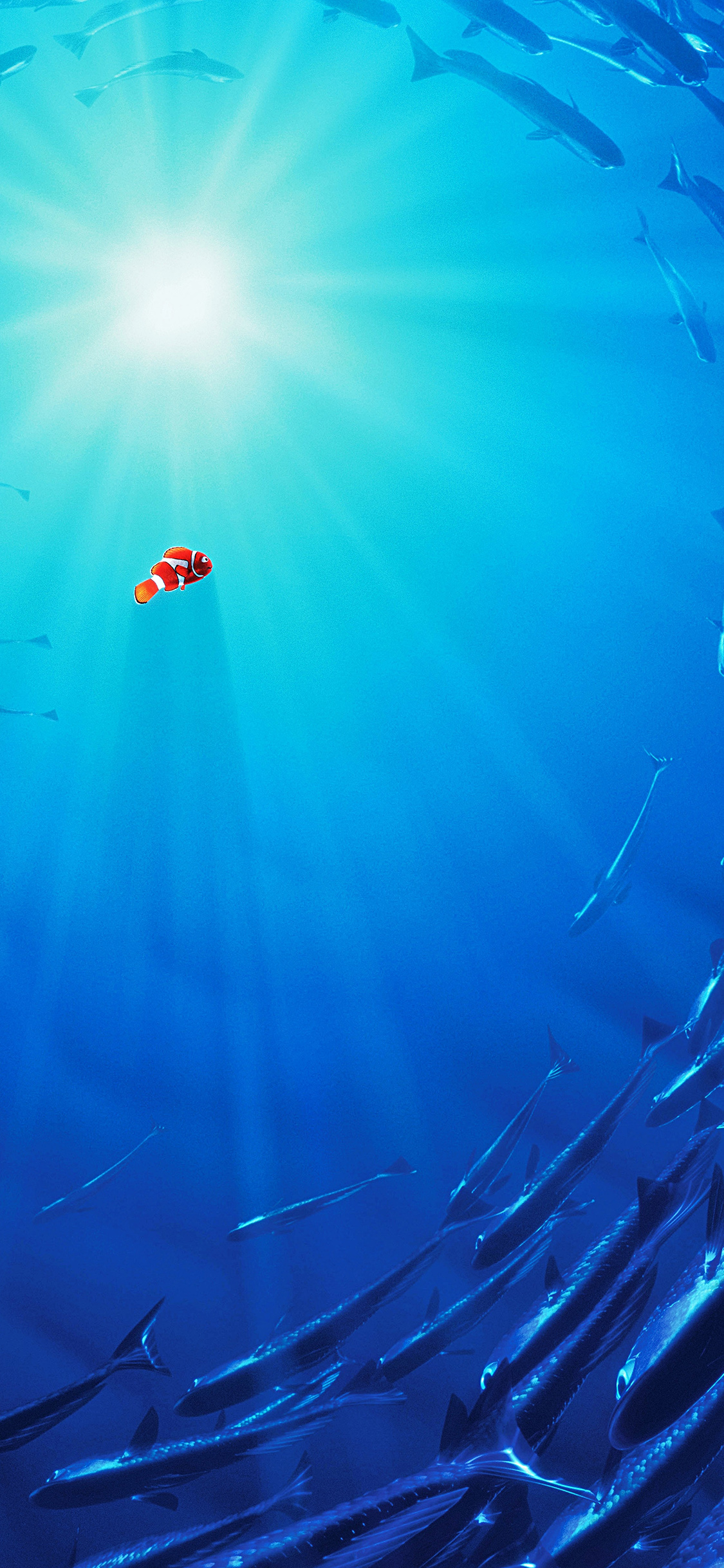 iPhoneXpapers.com-Apple-iPhone-wallpaper-aw13-nemo-disney-film-anime-sea-illustration-art-blue