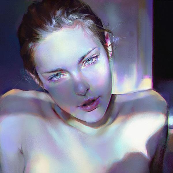 iPapers.co-Apple-iPhone-iPad-Macbook-iMac-wallpaper-aw19-girl-blue-face-sexy-paint-anime-illustration-art-yanjun-cheng-wallpaper
