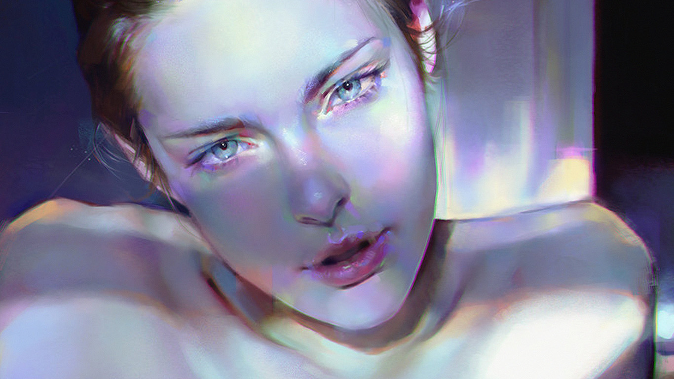 desktop-wallpaper-laptop-mac-macbook-air-aw19-girl-blue-face-sexy-paint-anime-illustration-art-yanjun-cheng-wallpaper