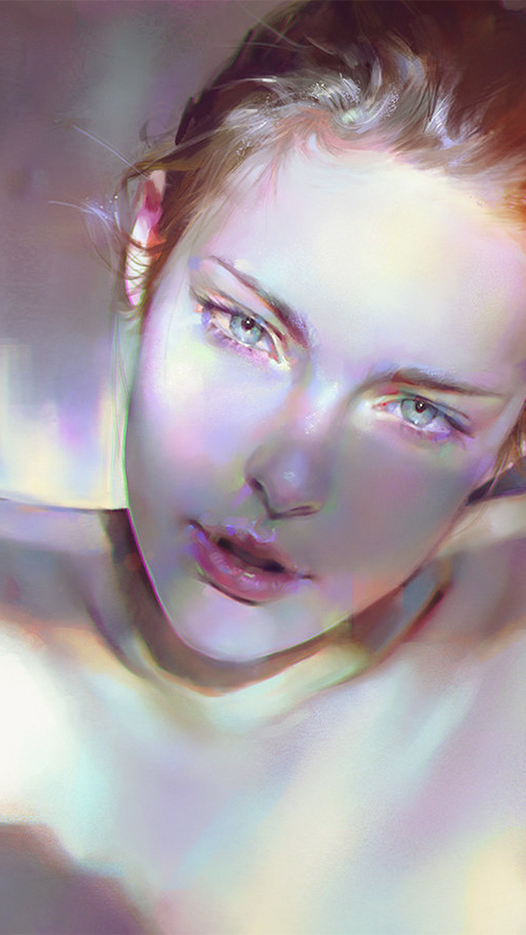iPhone7papers.com-Apple-iPhone7-iphone7plus-wallpaper-aw20-girl-face-sexy-paint-anime-illustration-art-yanjun-cheng