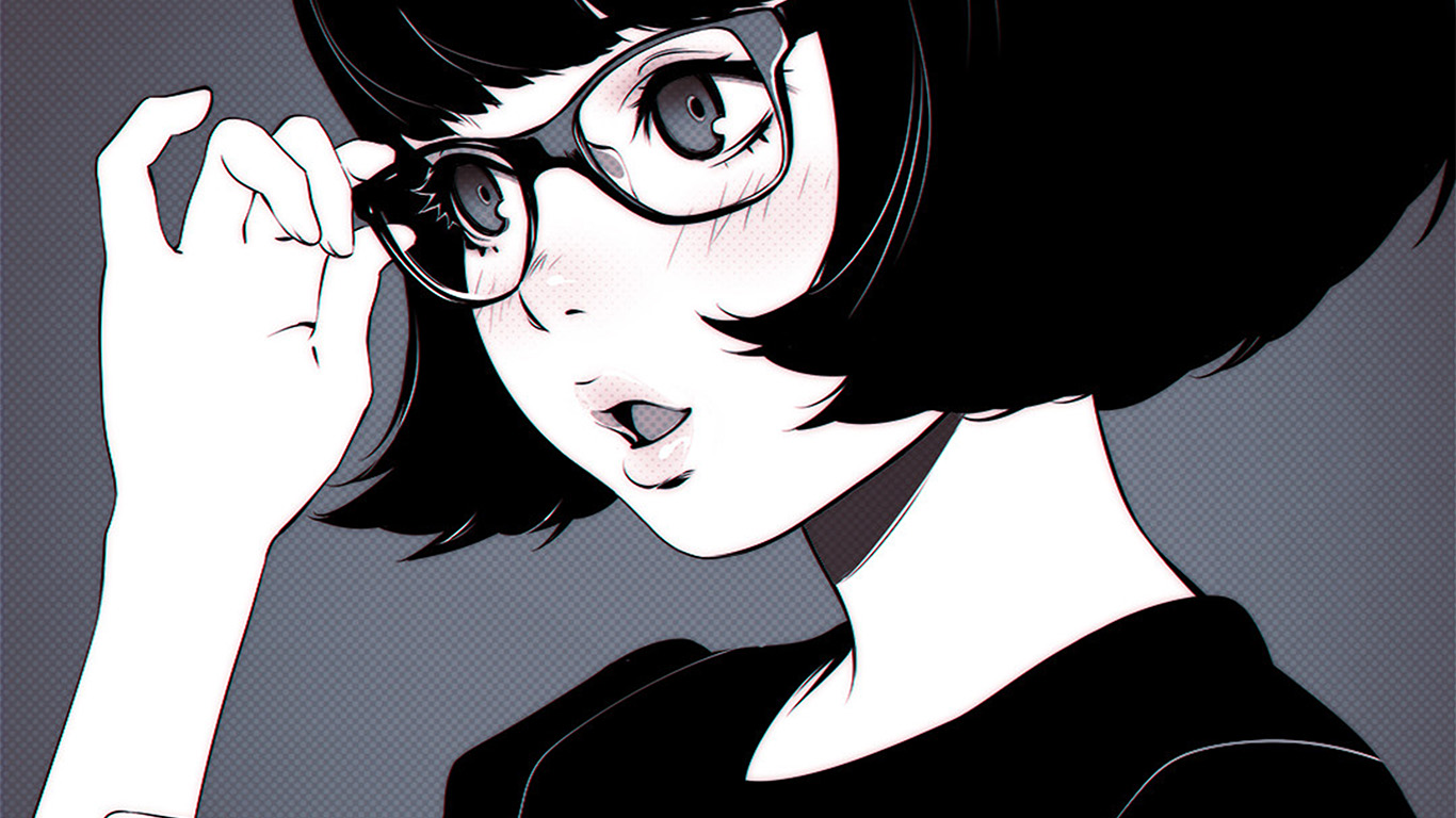 desktop-wallpaper-laptop-mac-macbook-air-aw22-girl-bw-anime-ilya-kuvshinov-illustration-art-wallpaper