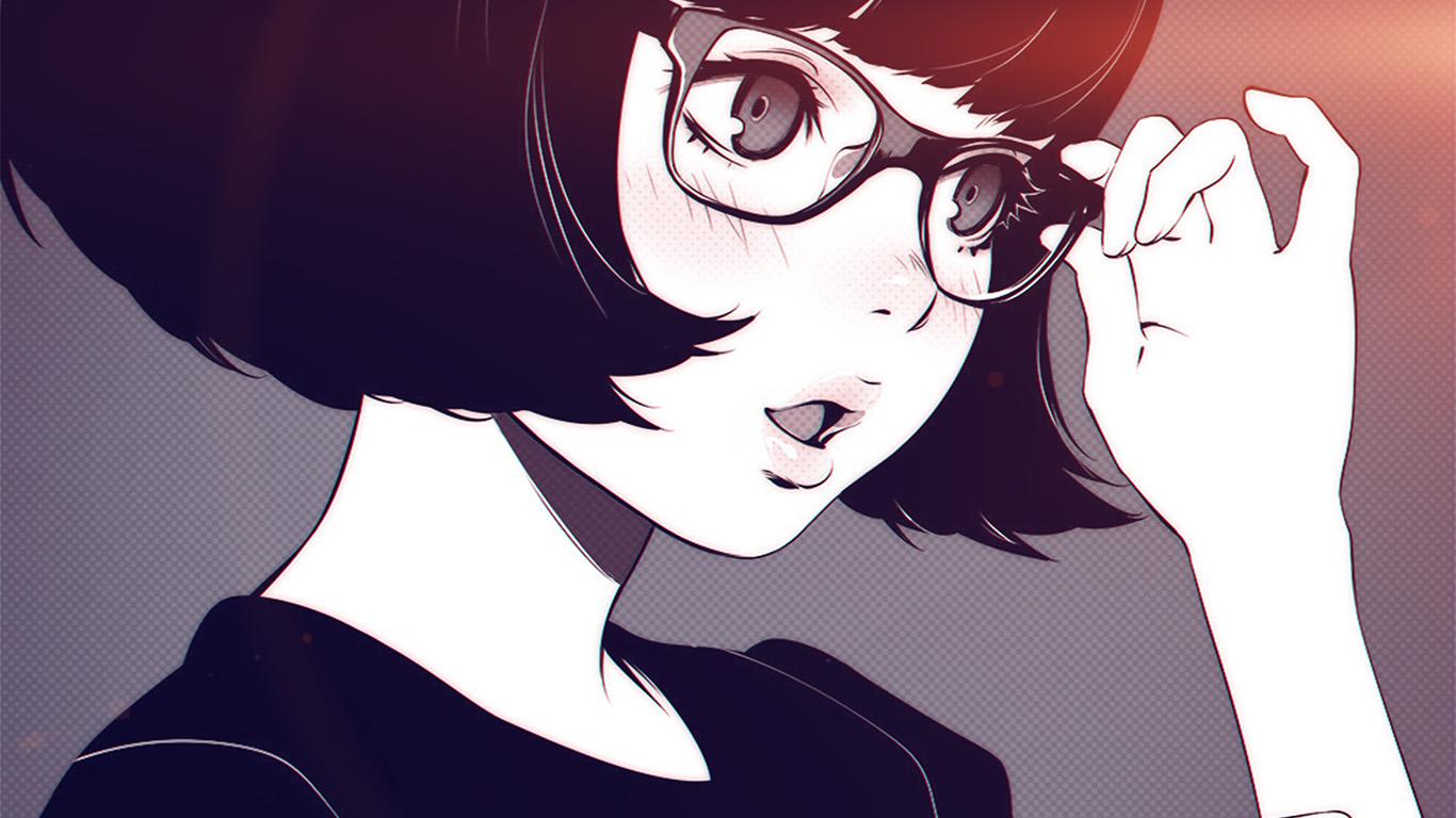 desktop-wallpaper-laptop-mac-macbook-air-aw23-girl-bw-anime-ilya-kuvshinov-illustration-art-flare-wallpaper