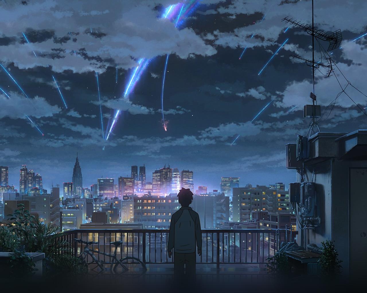 wallpaper for desktop, laptop | aw28-yourname-night-anime ...