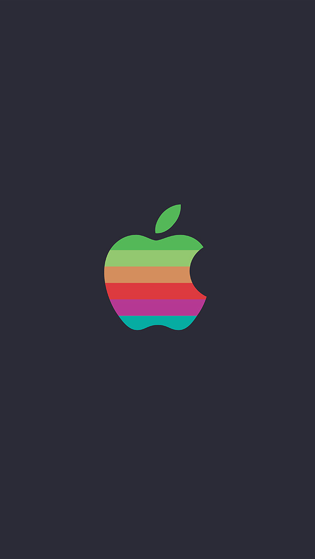 freeios8.com-iphone-4-5-6-plus-ipad-ios8-aw31-minimal-logo-apple-color-dark-illustration-art