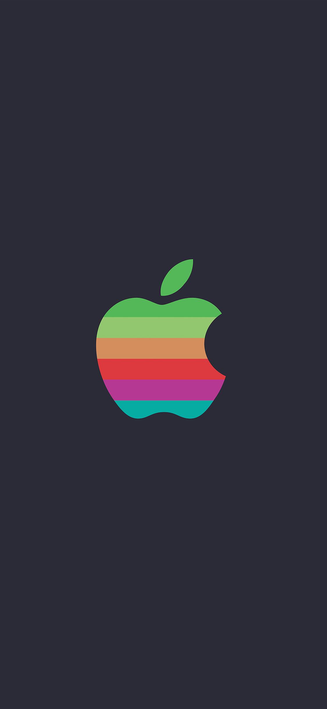 iPhoneXpapers.com-Apple-iPhone-wallpaper-aw31-minimal-logo-apple-color-dark-illustration-art