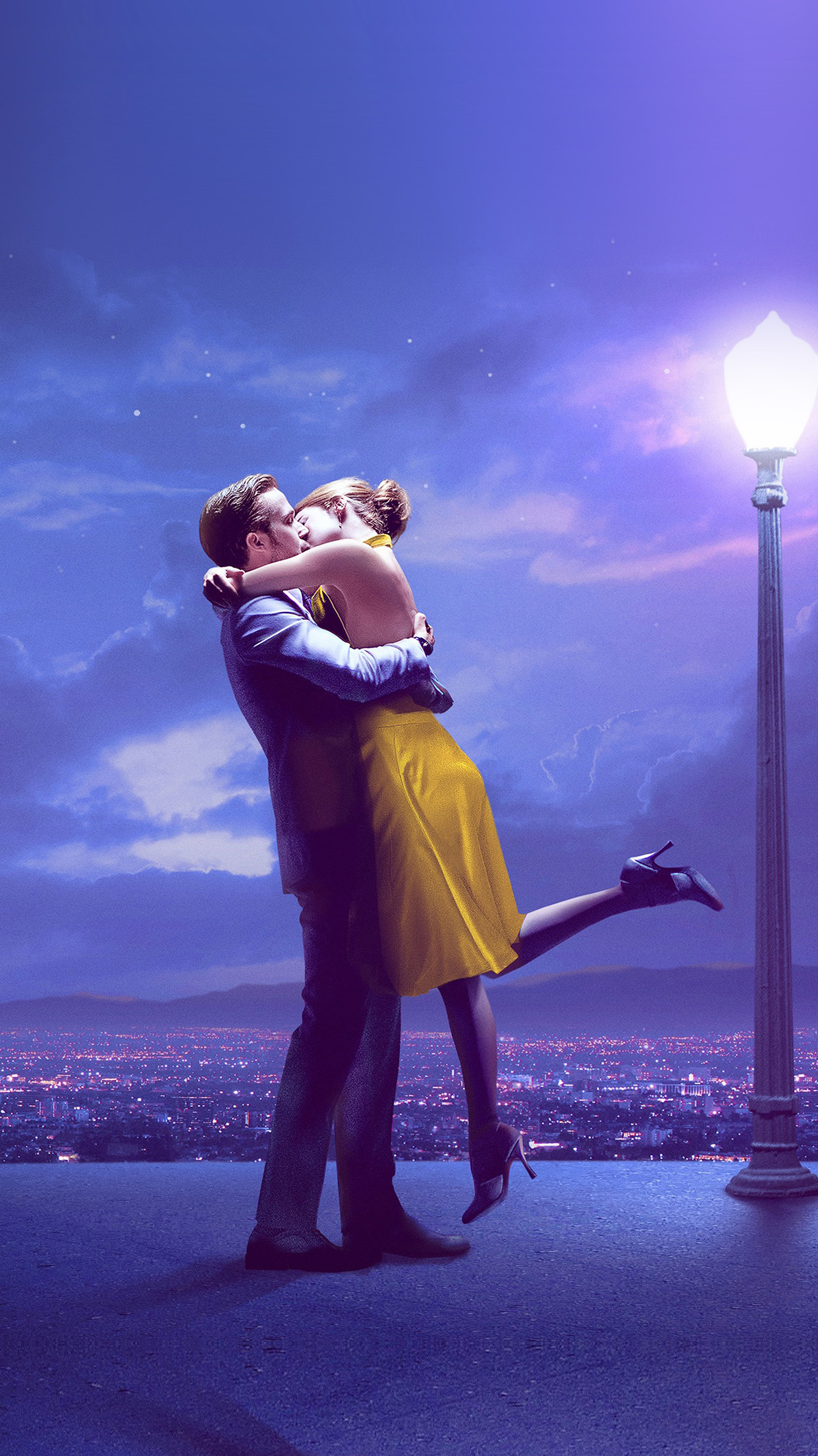 Iphone wallpaper aw38 lalaland film love - Classic art wallpaper iphone 5 ...
