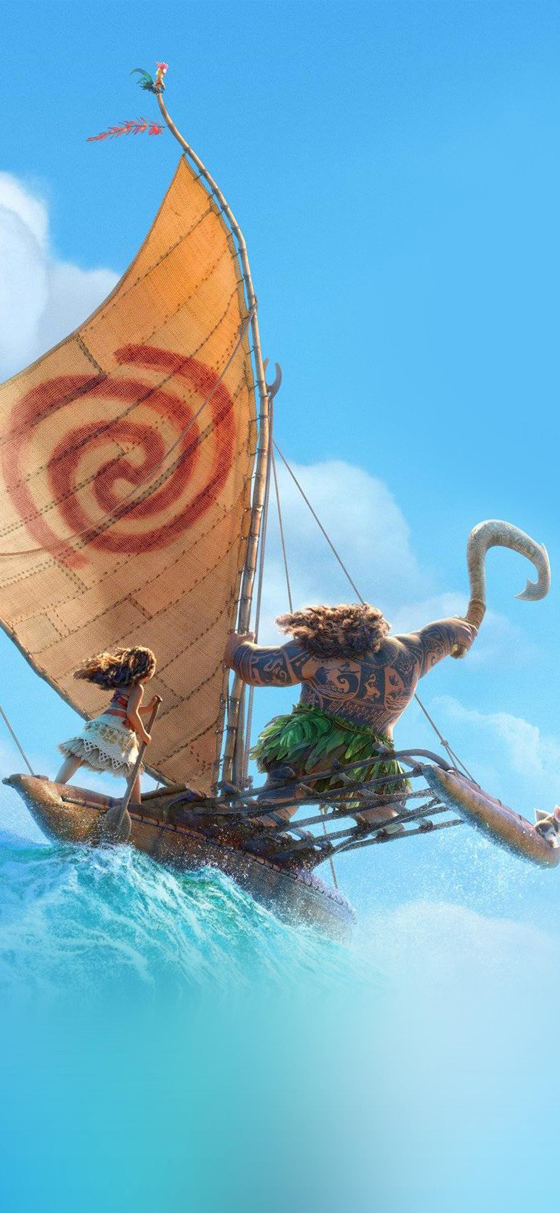 iPhoneXpapers.com-Apple-iPhone-wallpaper-aw39-surf-moana-disney-film-anime-summer-sea-illustration-art