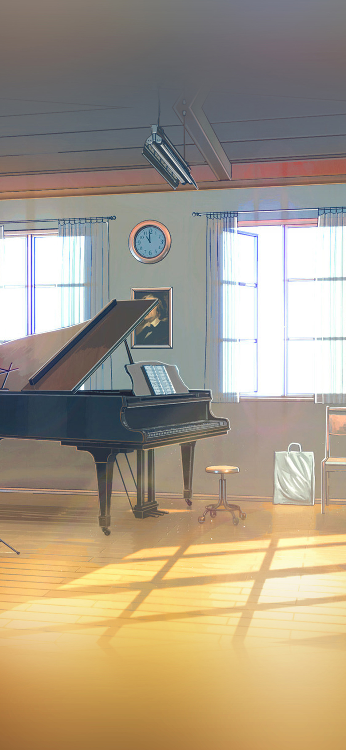 iPhoneXpapers.com-Apple-iPhone-wallpaper-aw48-arseniy-chebynkin-music-room-piano-illustration-art
