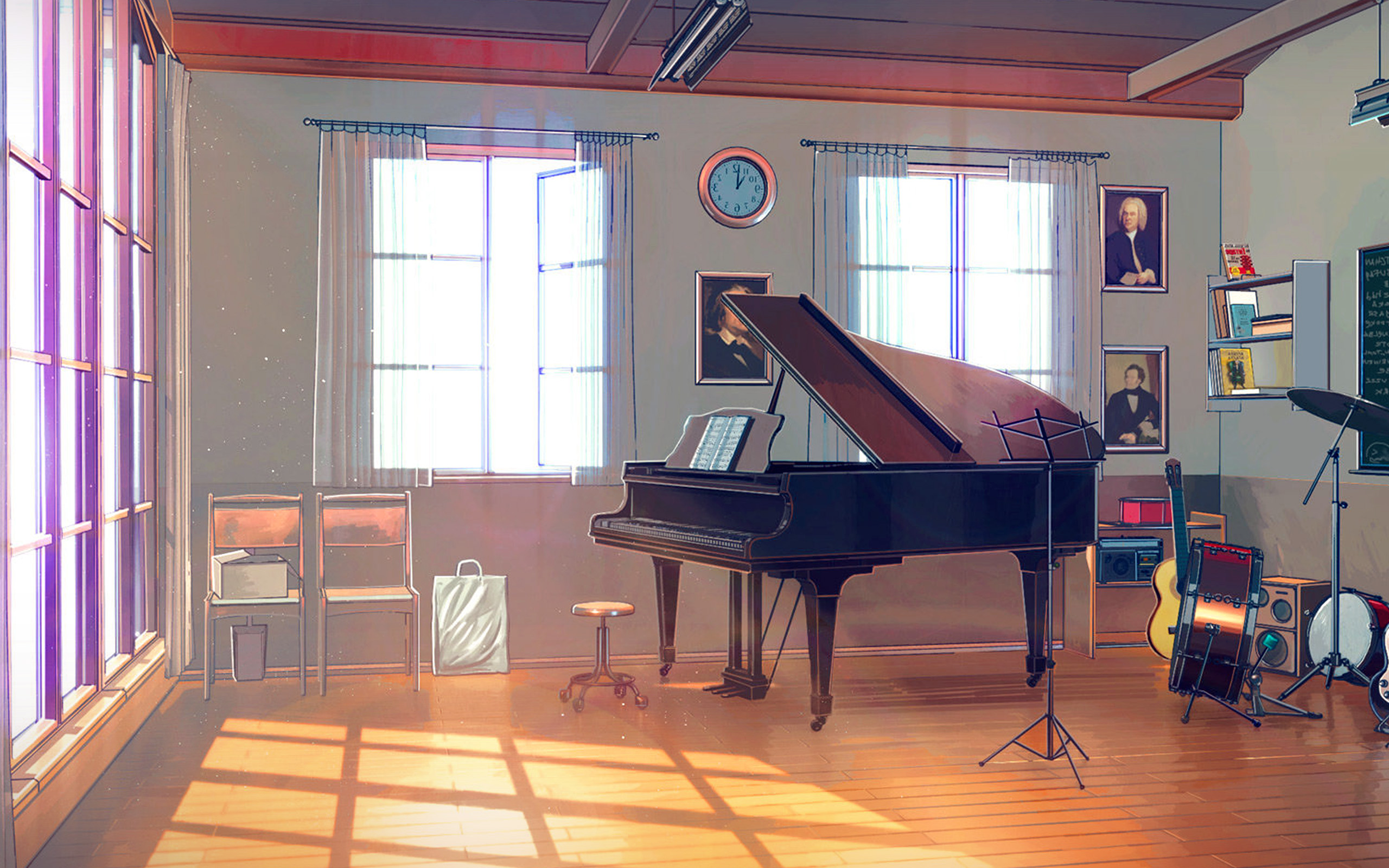 Room Background: Aw49-arseniy-chebynkin-music-room-piano-illustration-art
