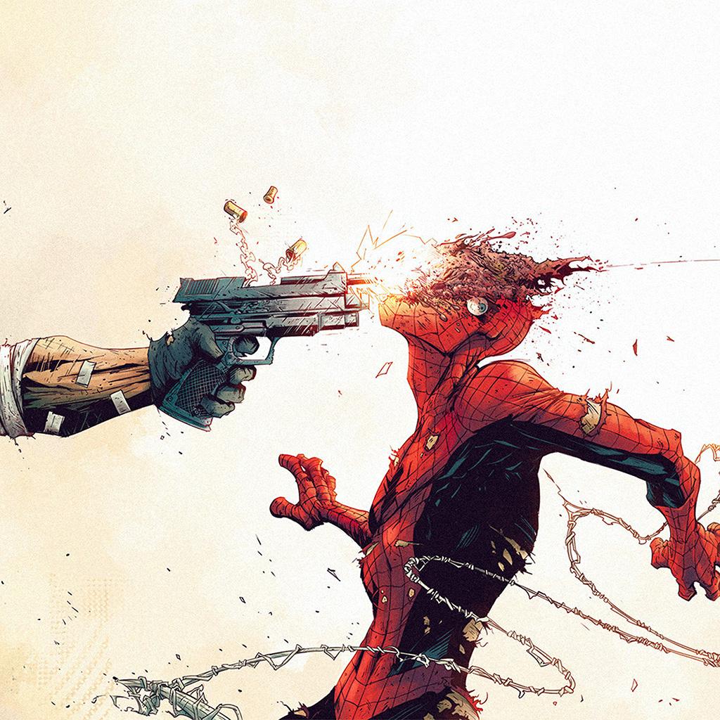 wallpaper-aw51-punisher-spiderman-tonton-revolver-illustration-art-gun-wallpaper