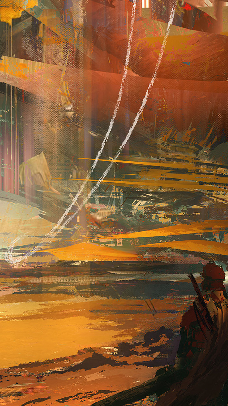 Papers.co-iPhone5-iphone6-plus-wallpaper-aw54-wadim-kashin-paint-abstract-red-illustration-art