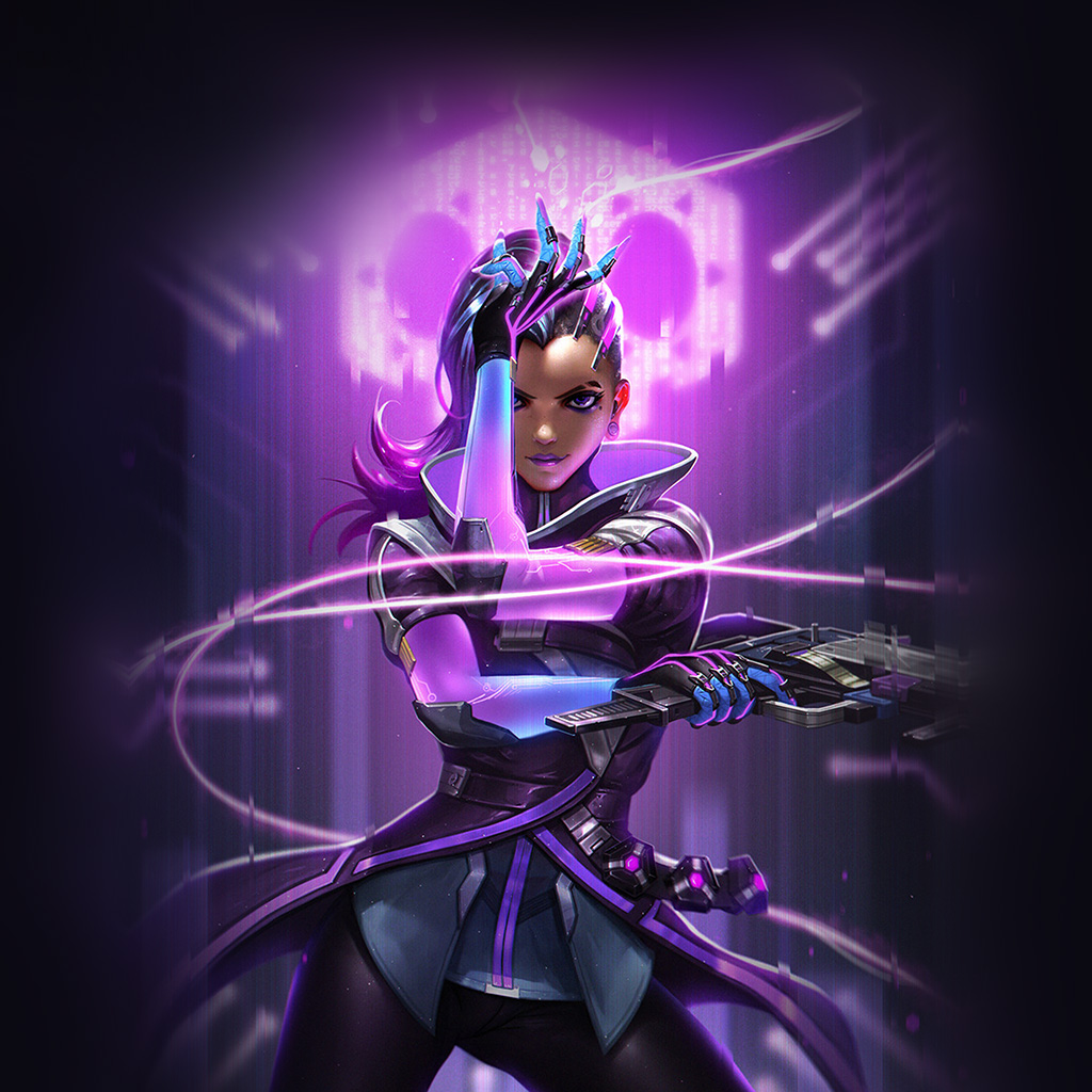 wallpaper-aw56-liang-xing-overwatch-sombra-purple-game-hero-illustration-art-wallpaper