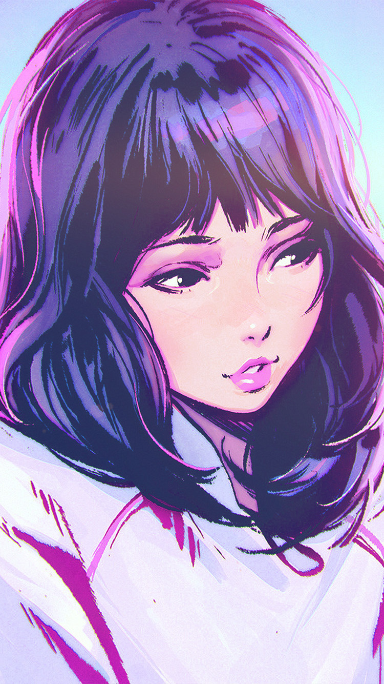 iPhone6papers.co-Apple-iPhone-6-iphone6-plus-wallpaper-aw58-ilya-kuvshinov-girl-blue-face-illustration-art