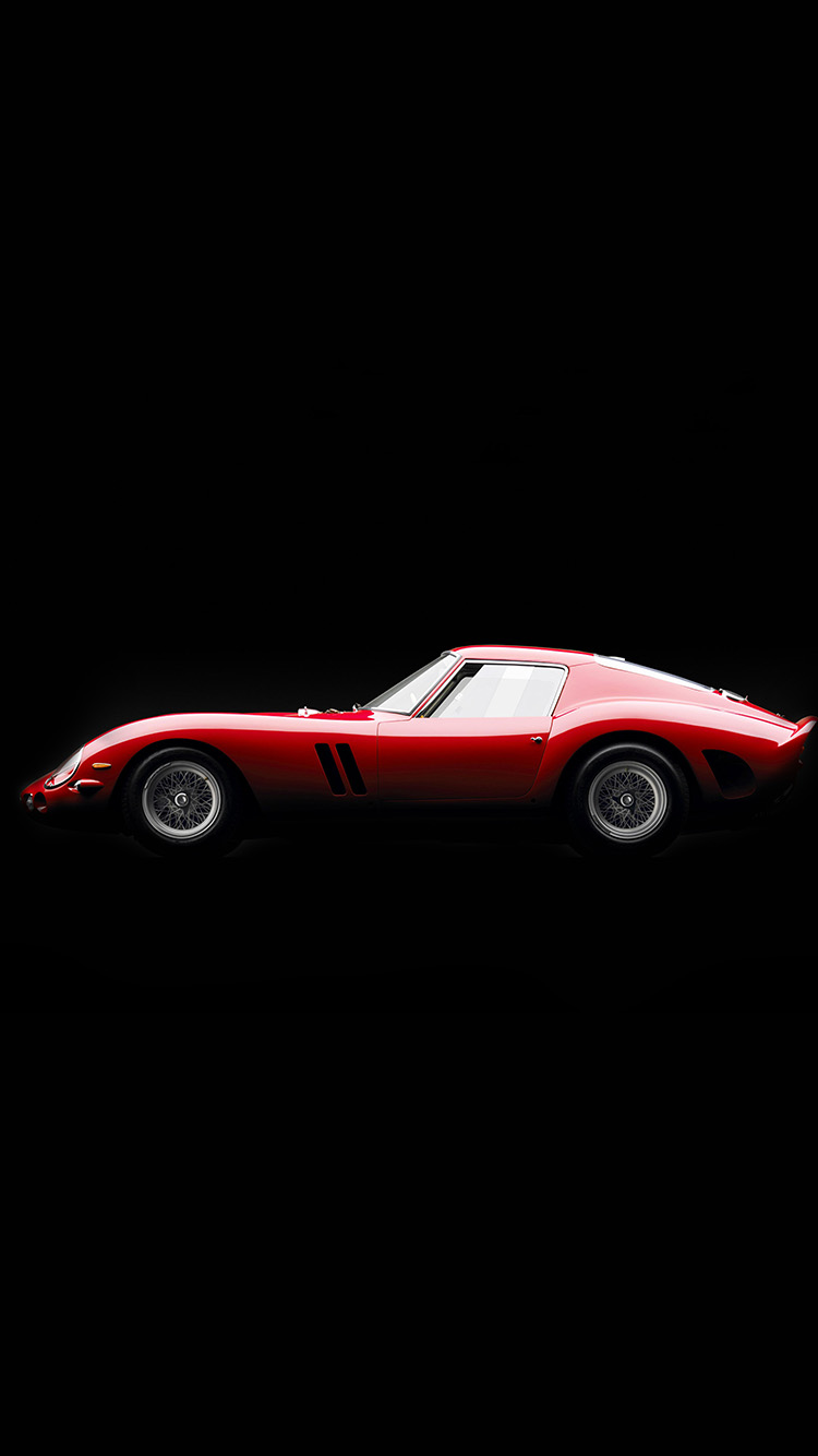 Papers.co-iPhone5-iphone6-plus-wallpaper-aw61-supercar-red-ferrari-250-gto-seriesi-illustration-art
