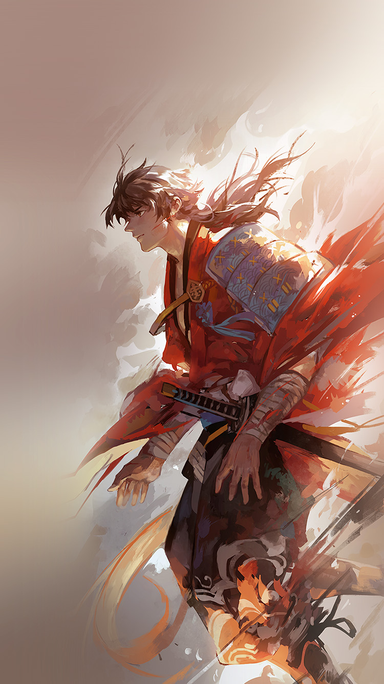 iPhone6papers.co-Apple-iPhone-6-iphone6-plus-wallpaper-aw63-hanyijie-hero-red-handsomeillustration-art-anime