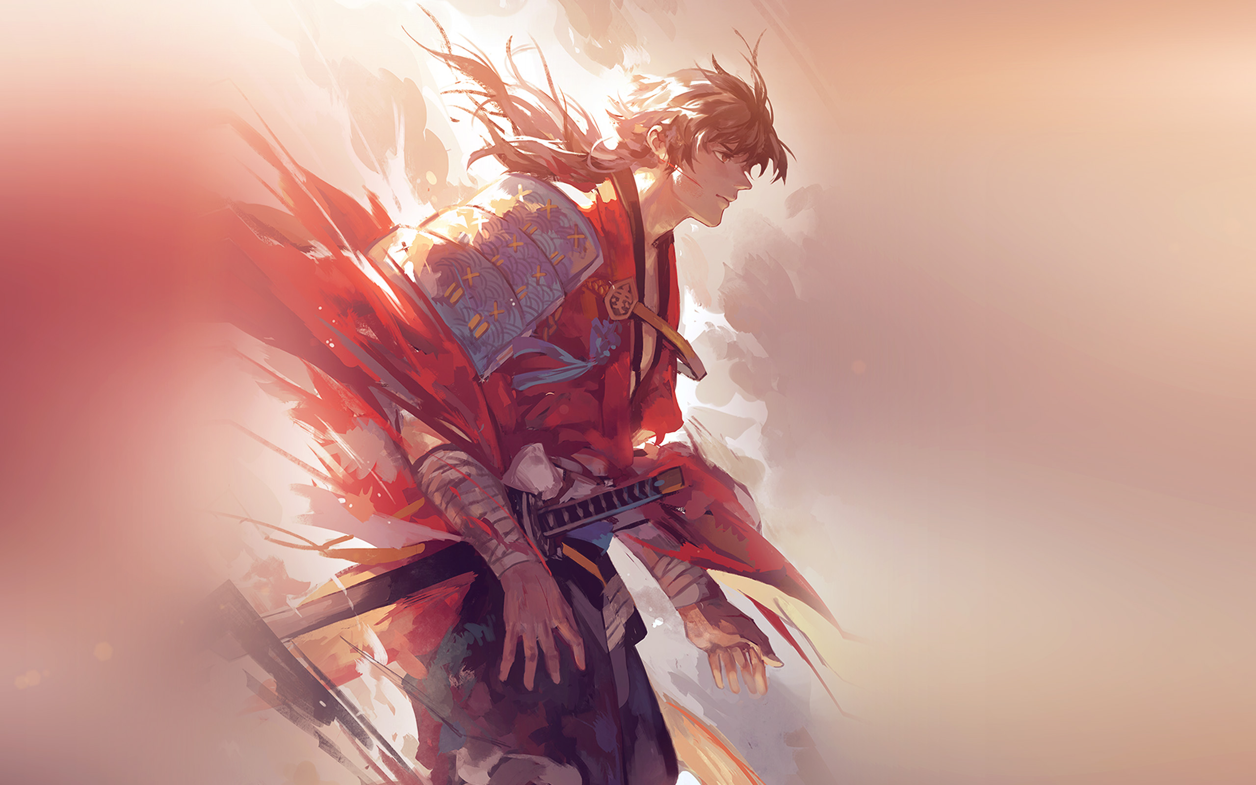 aw64-hanyijie-hero-red-handsomeillustration-art-anime