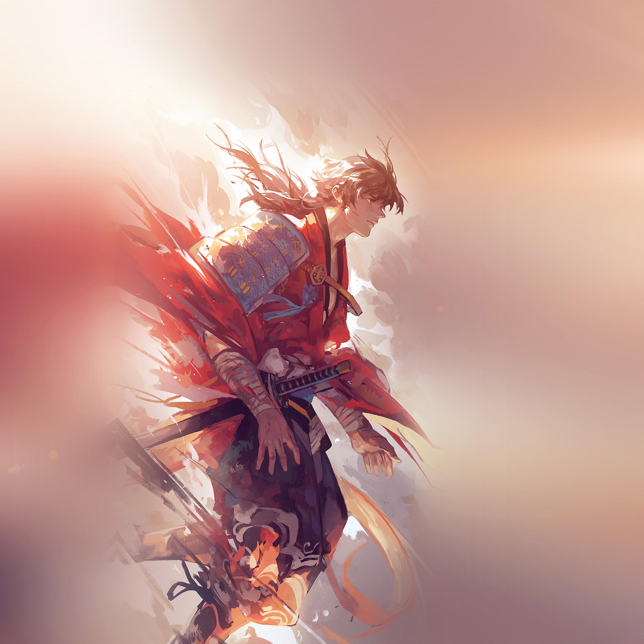 Aw64-hanyijie-hero-red-handsomeillustration-art-anime