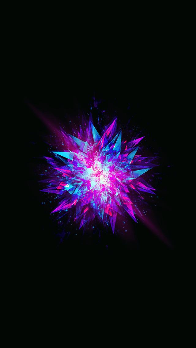 freeios8.com-iphone-4-5-6-plus-ipad-ios8-aw79-fractal-blast-minimal-dark-abstract-illustration-art