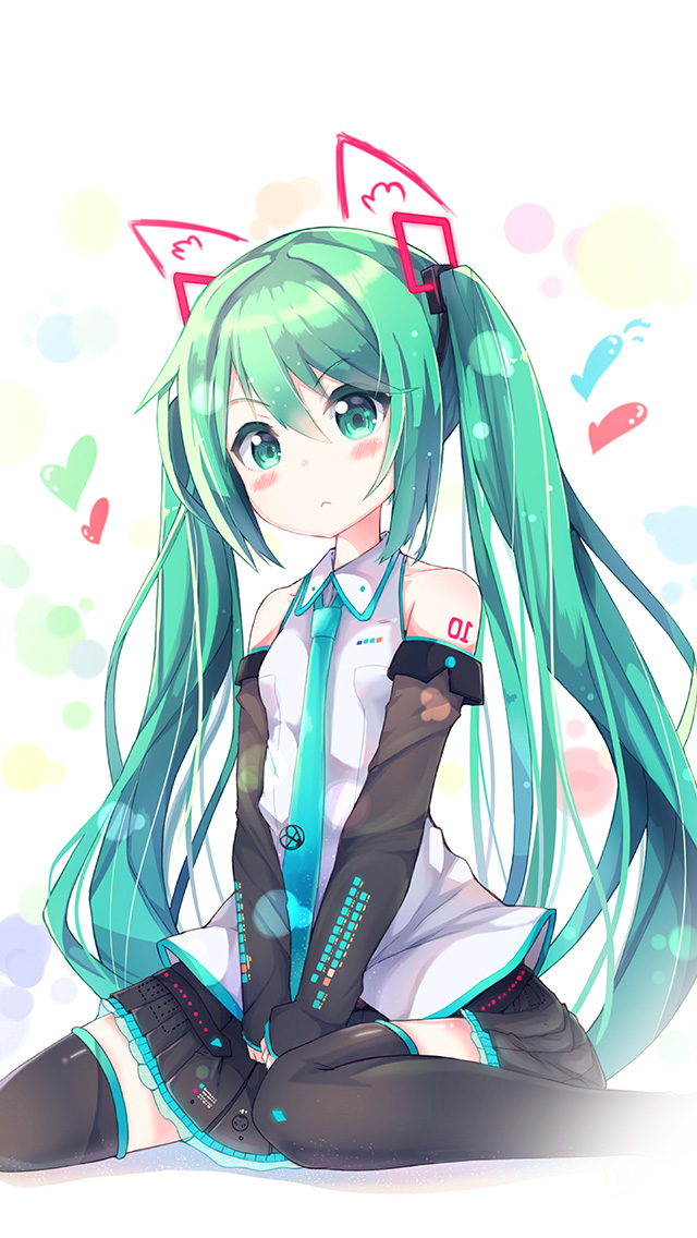 freeios8.com-iphone-4-5-6-plus-ipad-ios8-aw87-hatsune-milk-anime-girl-illustration-art