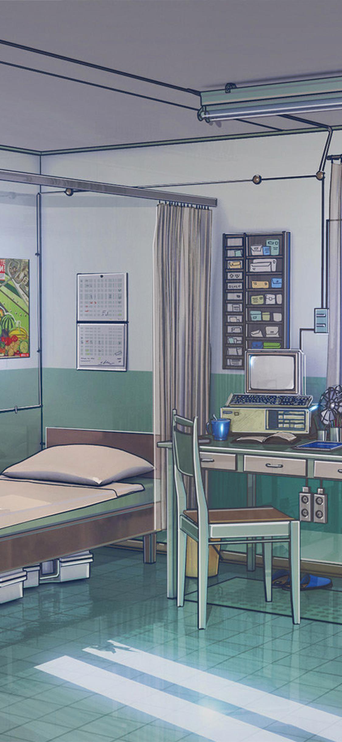 iPhoneXpapers.com-Apple-iPhone-wallpaper-aw92-anime-illustration-art-arseniy-chebynkin-office