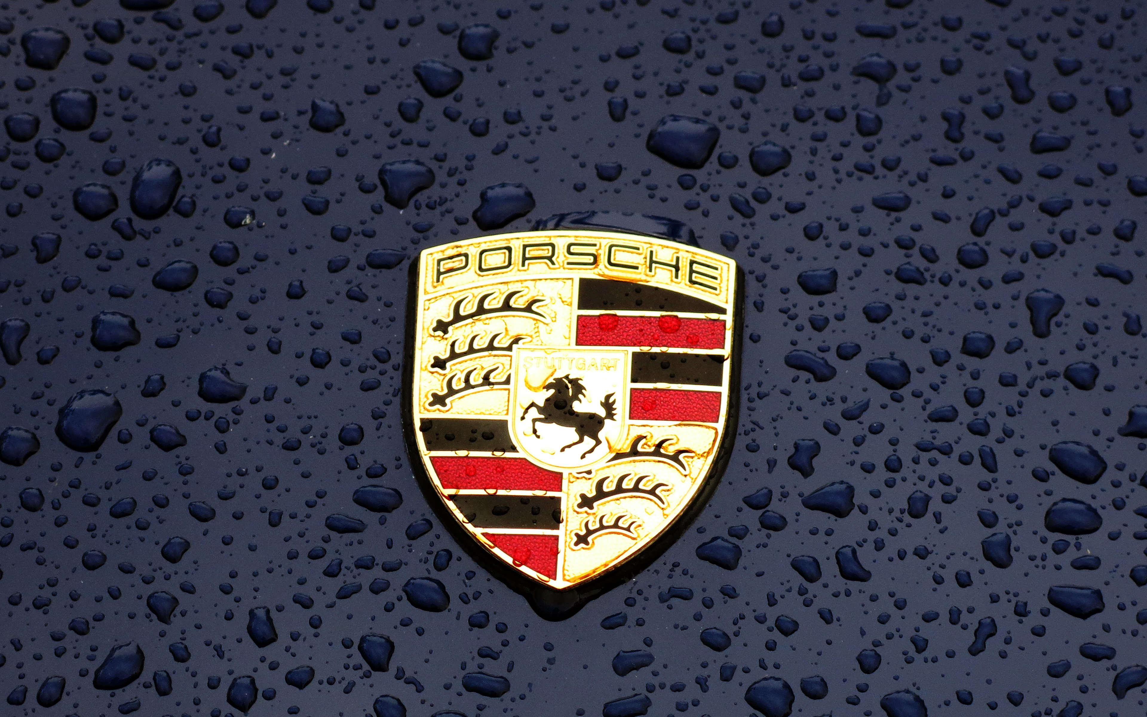 Ax14 Porsche Logo Emblem Car Illustration Art Wallpaper