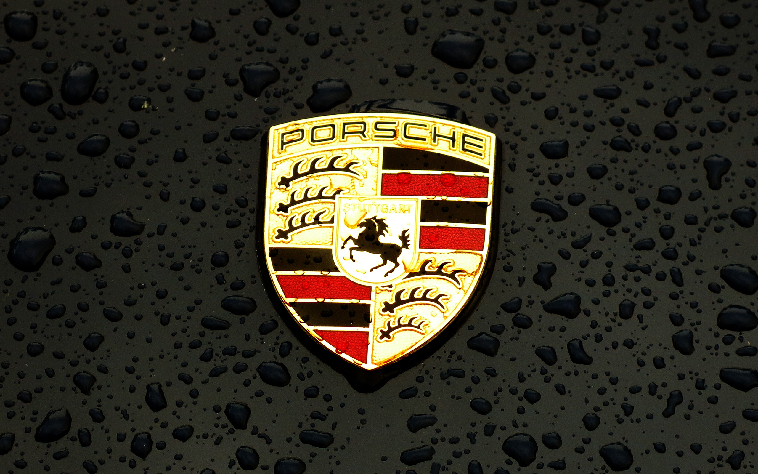 Ax15 Porsche Logo Emblem Car Illustration Art Dark Wallpaper