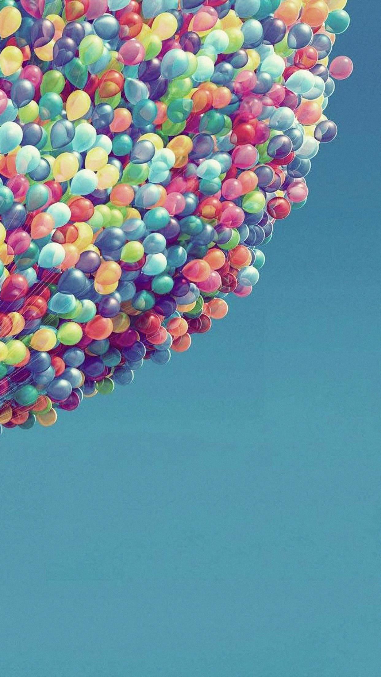 Ax16-bubble-color-blue-sky-illustration-art-wallpaper