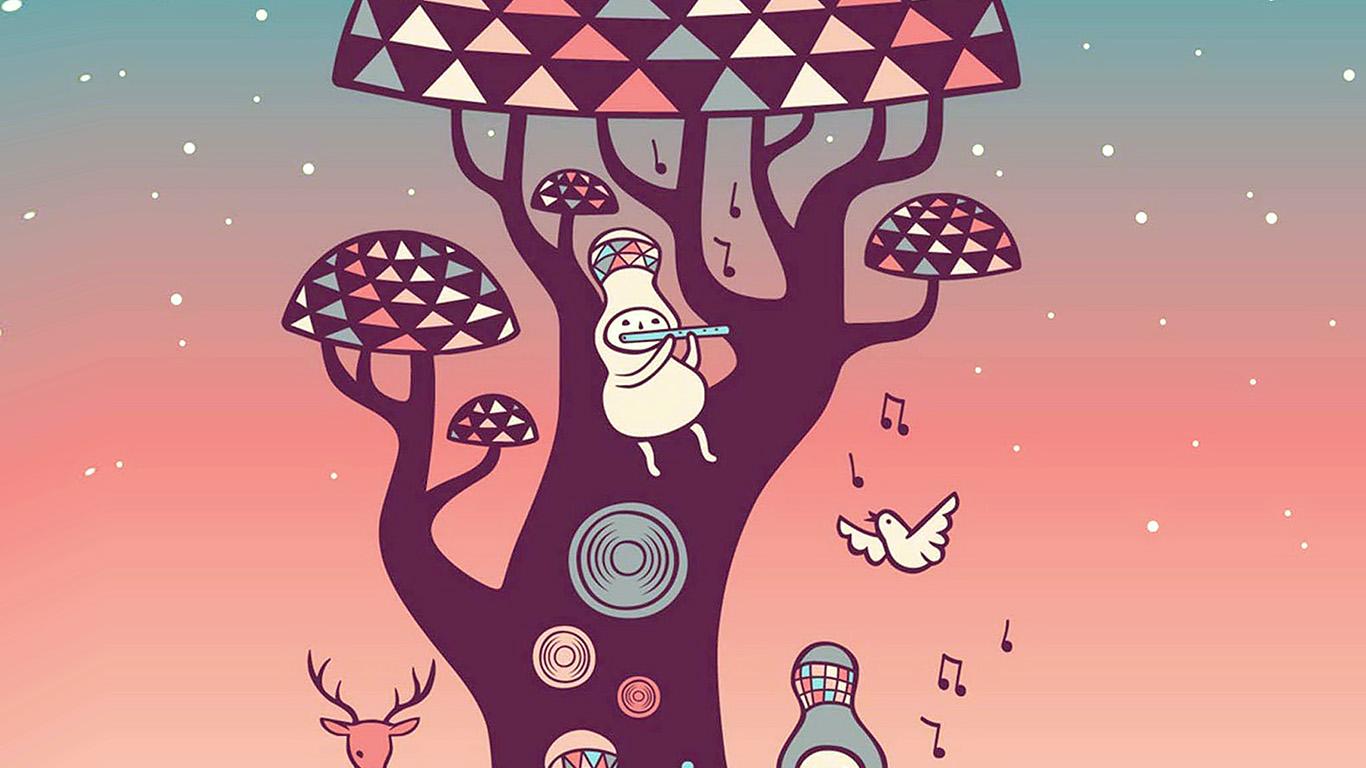 wallpaper-desktop-laptop-mac-macbook-ax18-cute-music-characters-illustration-art-red
