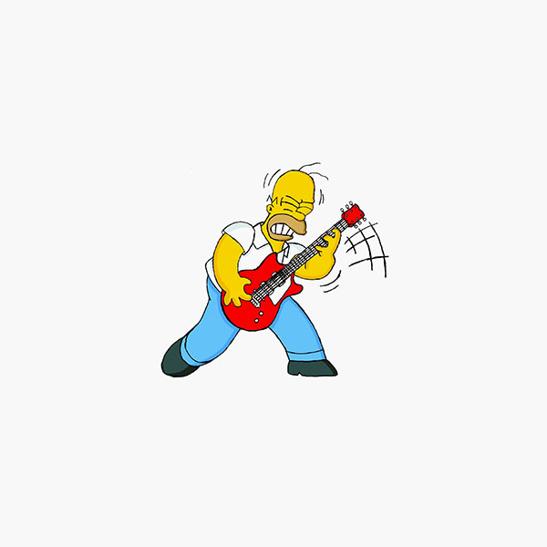iPapers.co-Apple-iPhone-iPad-Macbook-iMac-wallpaper-ax19-homer-simpson-music-white-illustration-art-wallpaper