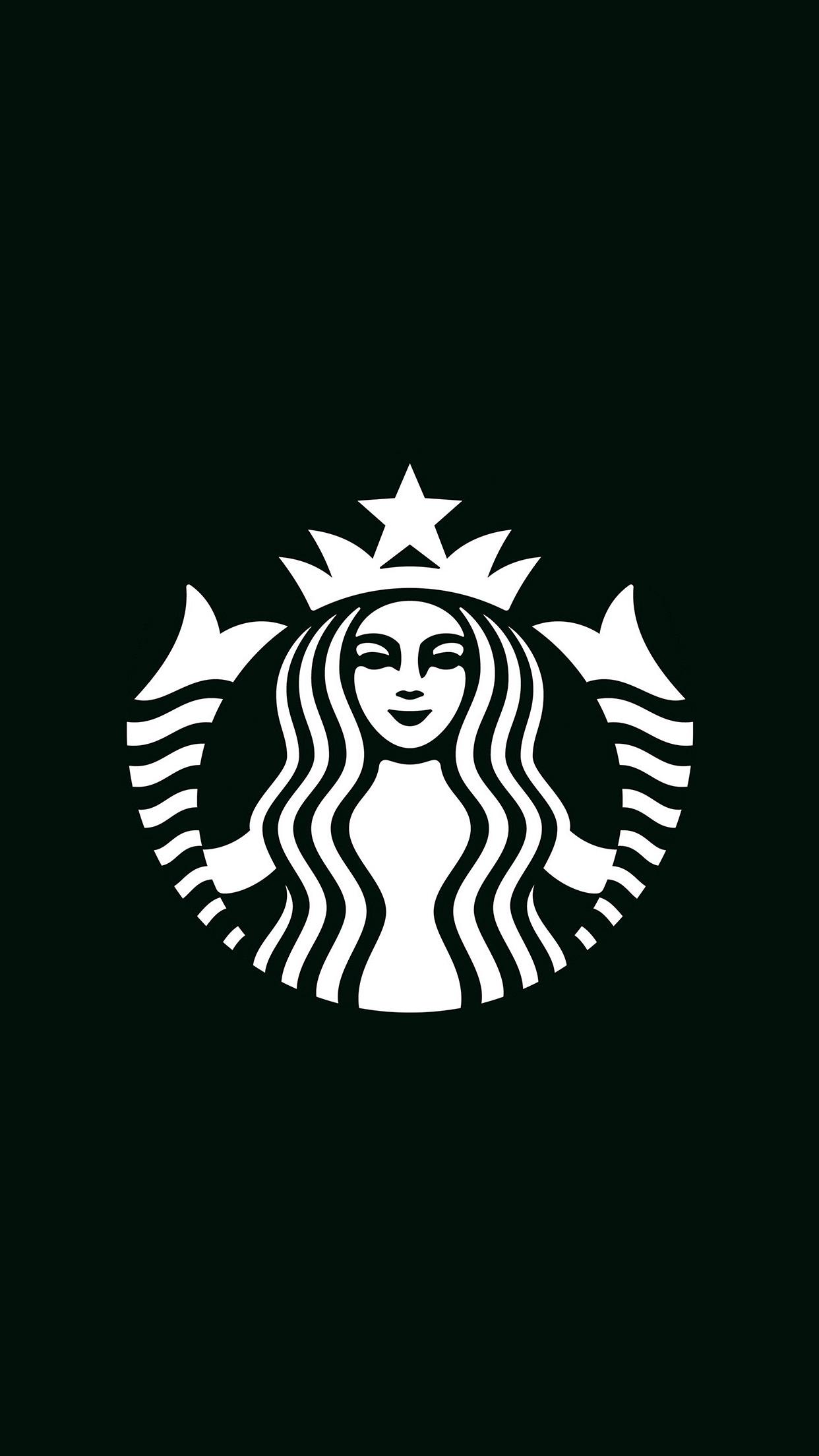 Iphonepapers Com Iphone Wallpaper Ax30 Starbucks Logo