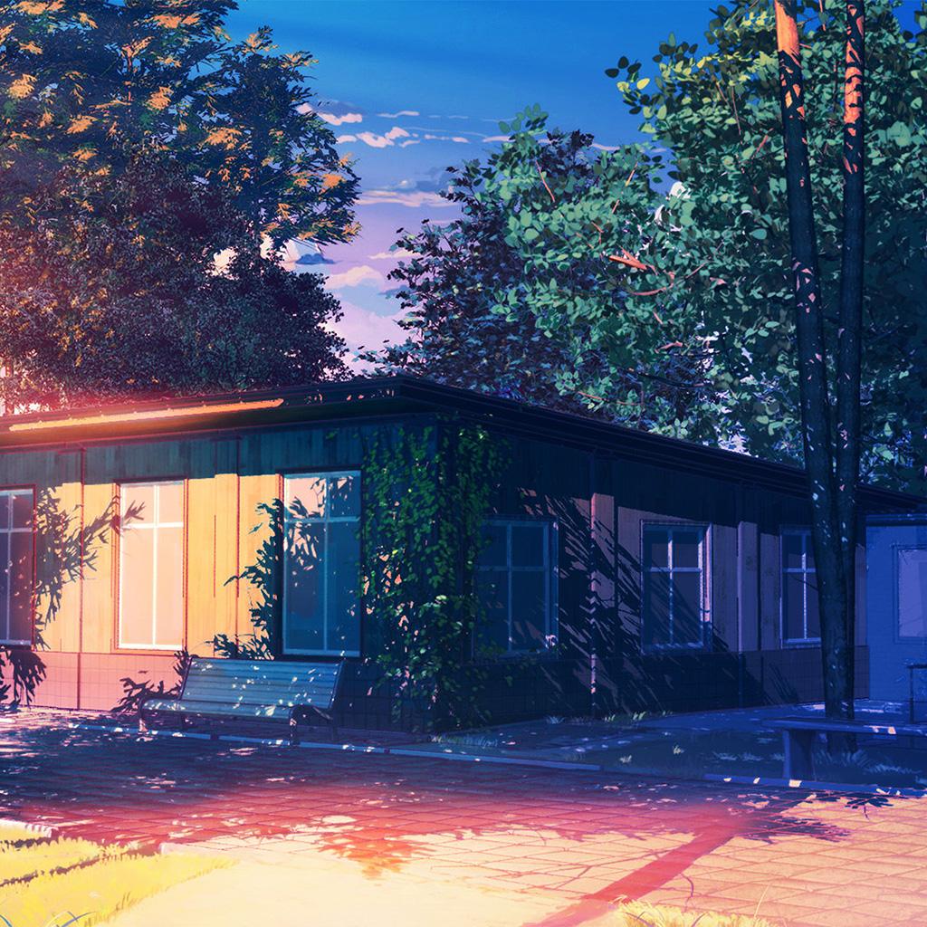 android-wallpaper-ax48-arseniy-chebynkin-camping-natiure-illustration-art-afternoon-wallpaper