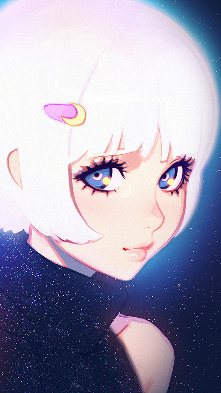 iPhone7papers.com-Apple-iPhone7-iphone7plus-wallpaper-ax55-ilya-kuvshinov-illustration-art-girl-dark-white-hair-blue