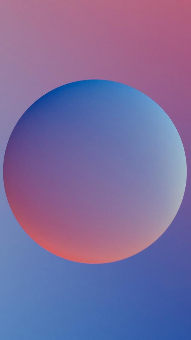 freeios8.com-iphone-4-5-6-plus-ipad-ios8-ax56-minimal-ball-gradation-red-blue-illustration-art