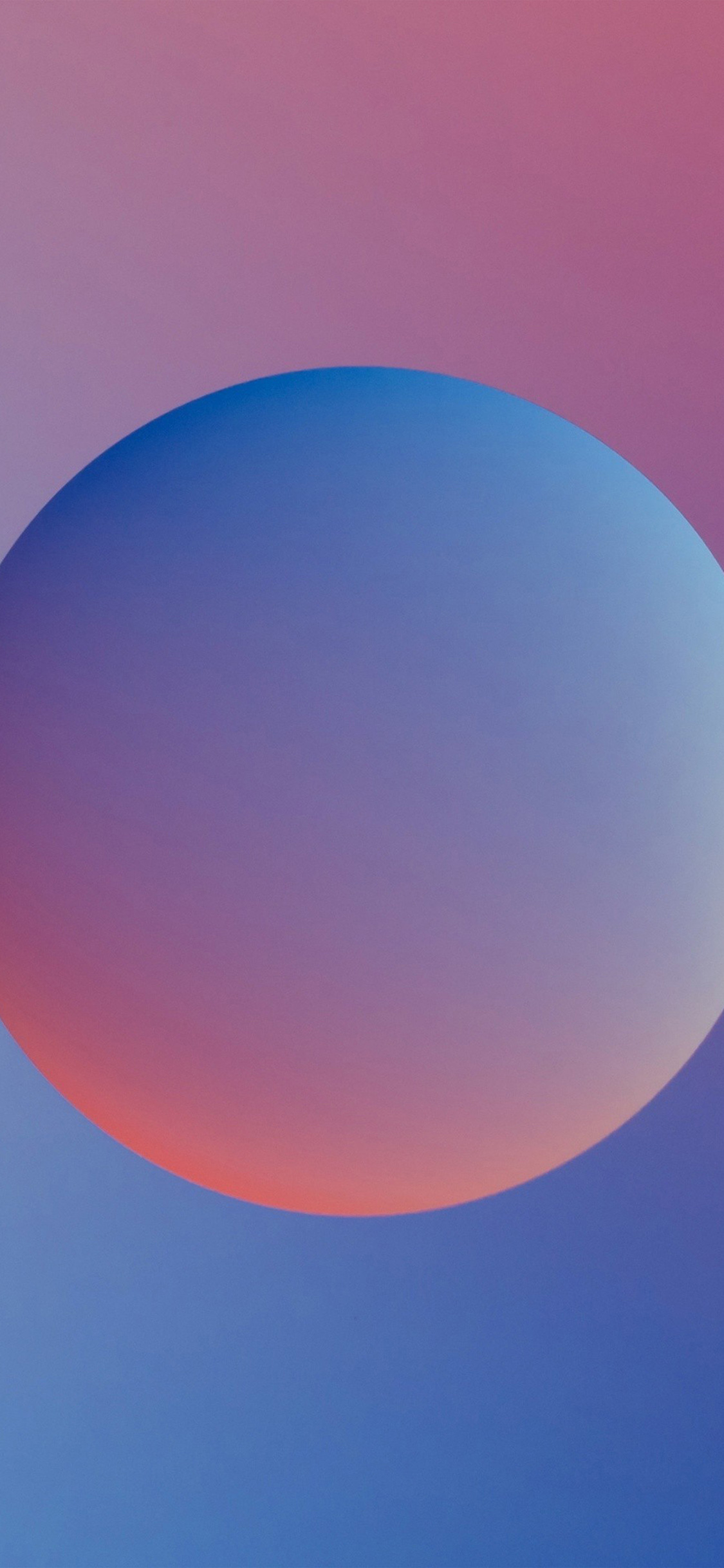 iPhoneXpapers.com-Apple-iPhone-wallpaper-ax56-minimal-ball-gradation-red-blue-illustration-art