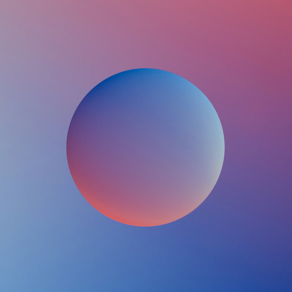 android-wallpaper-ax56-minimal-ball-gradation-red-blue-illustration-art-wallpaper