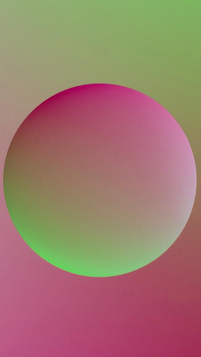 freeios8.com-iphone-4-5-6-plus-ipad-ios8-ax57-minimal-ball-gradation-red-green-illustration-art