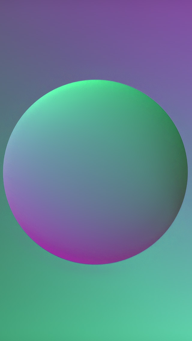 freeios8.com-iphone-4-5-6-plus-ipad-ios8-ax58-minimal-ball-gradation-purple-green-illustration-art