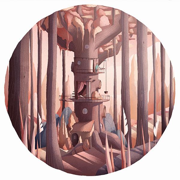 iPapers.co-Apple-iPhone-iPad-Macbook-iMac-wallpaper-ax61-matin-ordinaire-illustration-art-wood-warm-happy-wallpaper