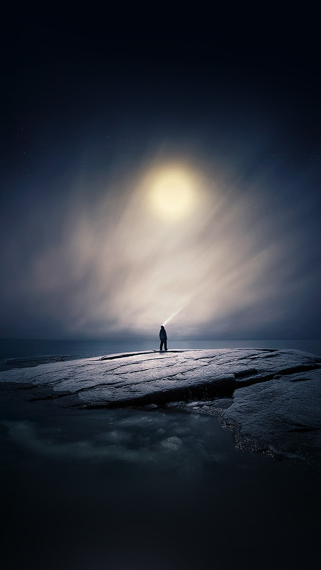 freeios8.com-iphone-4-5-6-plus-ipad-ios8-ax65-moonlight-night-dark-soft-illustration-art