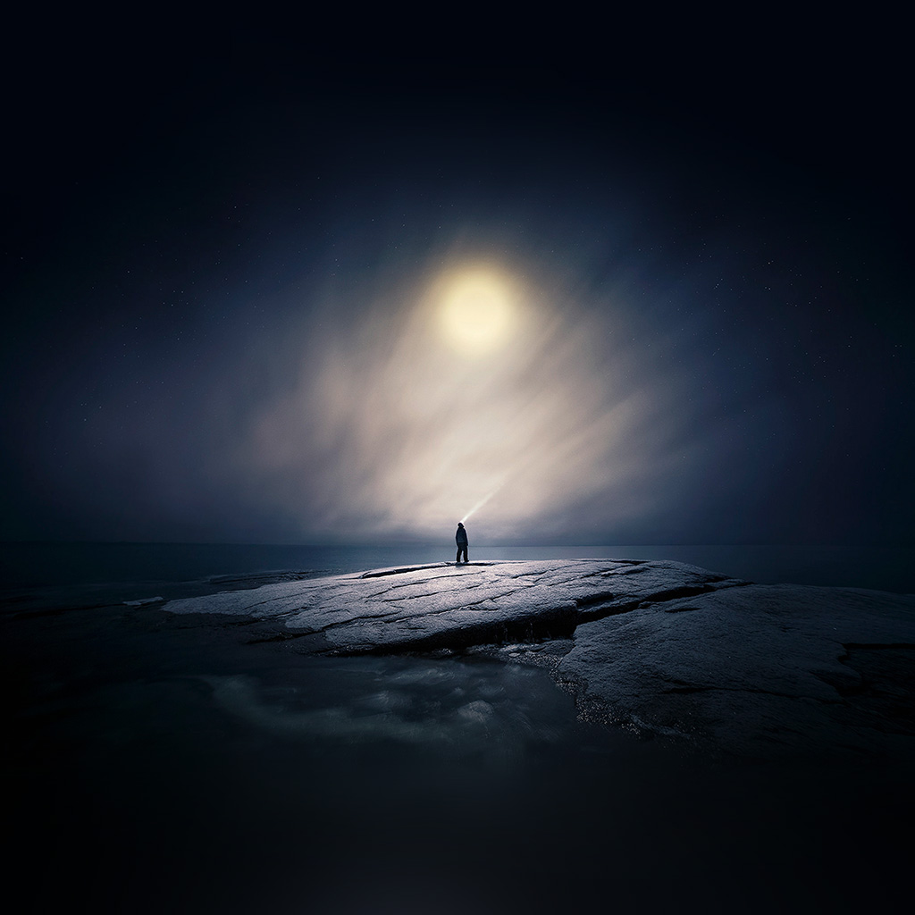 wallpaper-ax65-moonlight-night-dark-soft-illustration-art-wallpaper