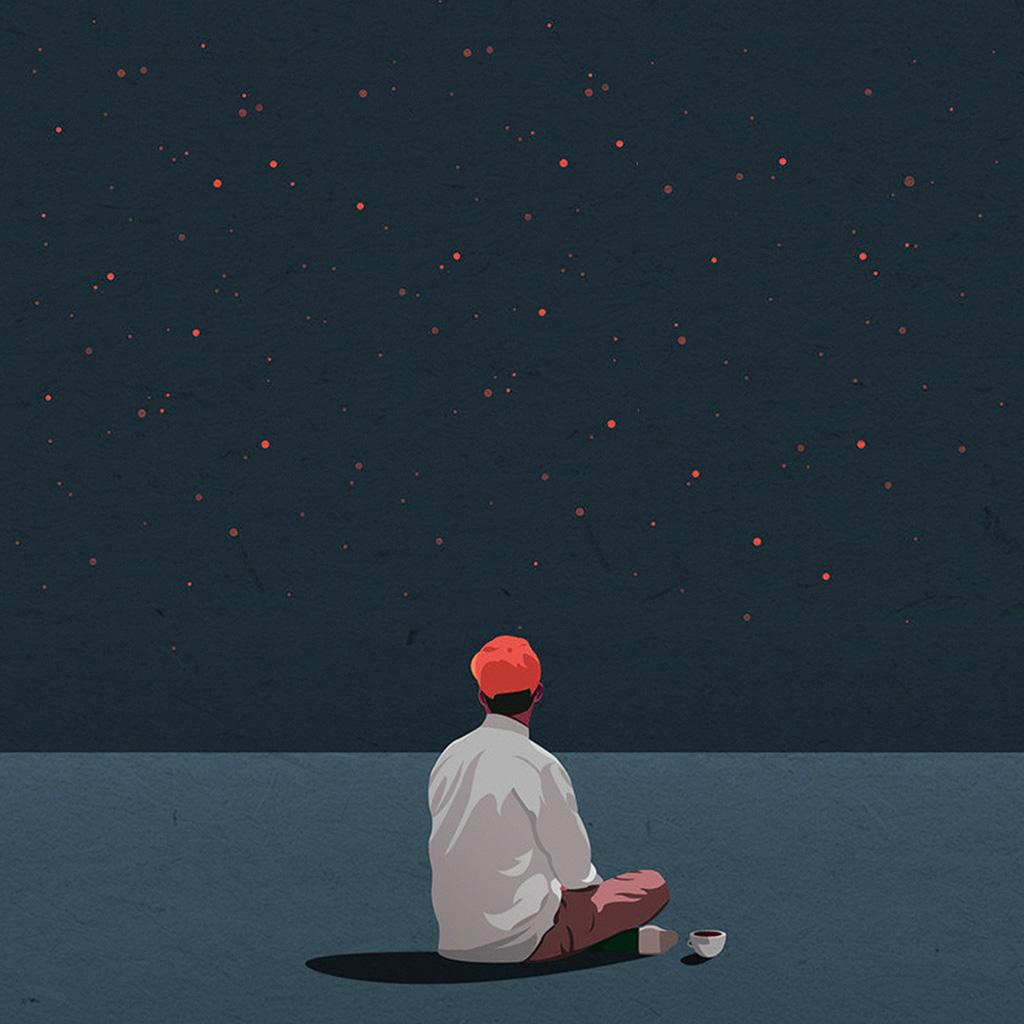 wallpaper-ax68-coffee-boy-cover-illustration-art-red-wallpaper