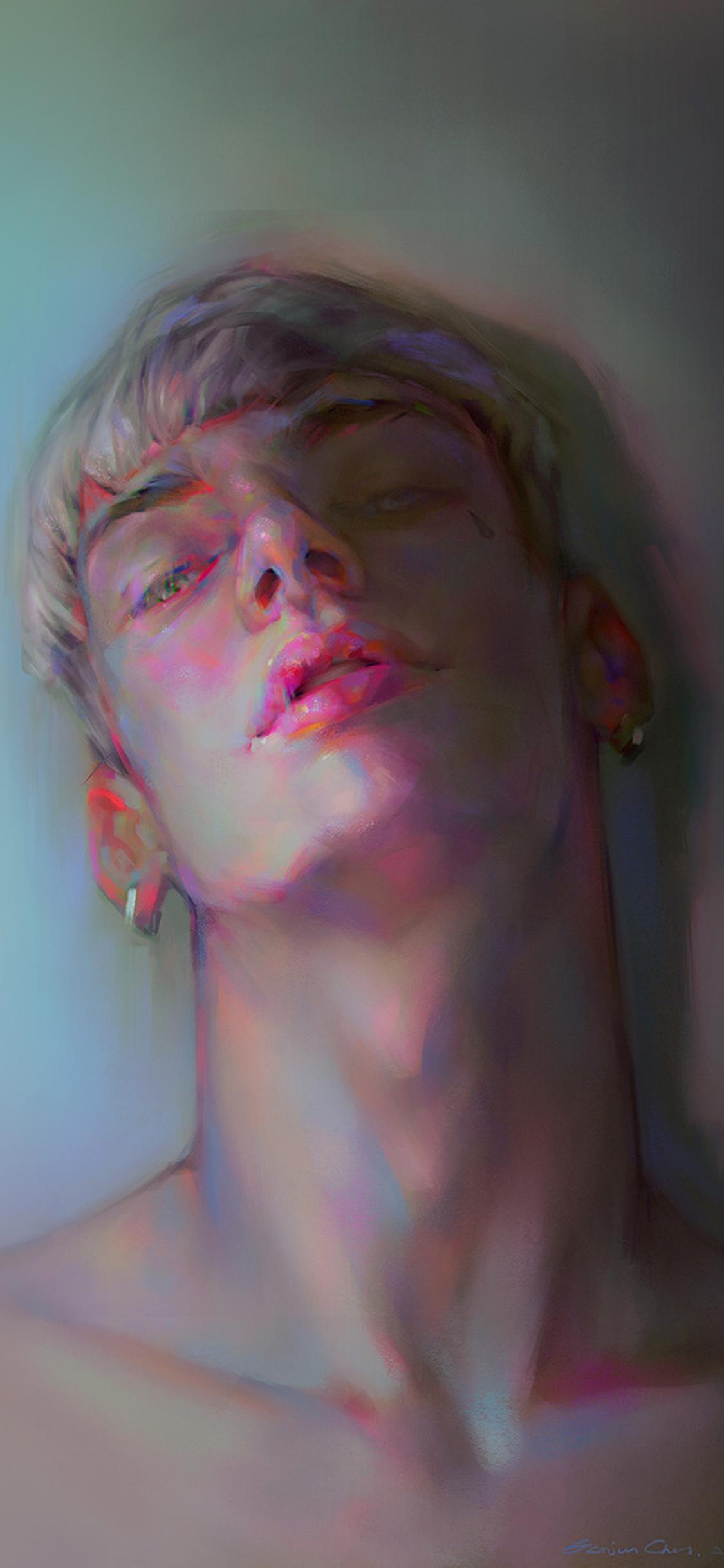 iPhoneXpapers.com-Apple-iPhone-wallpaper-ax73-yanjun-cheng-boy-dark-color-illustration-art