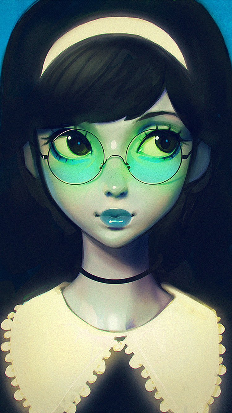 iPhone6papers.co-Apple-iPhone-6-iphone6-plus-wallpaper-ax76-ilya-kuvshinov-girl-illustration-art-blue